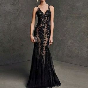 Dresses & Skirts - Sexy black mermaid party prom gown